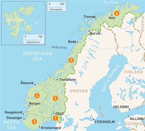 fjord interactive map of norway norway regions rough guides rough guides