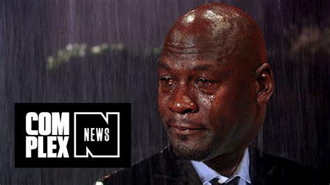 Jordan Crying Meme - michael jordan don t like the crying jordan meme youtube