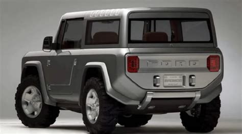 ford bronco specs  release date expected