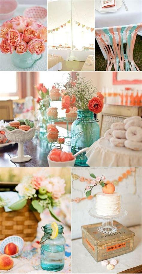 1000 ideas about peach wedding theme on pinterest peach teal and peach wedding decorations