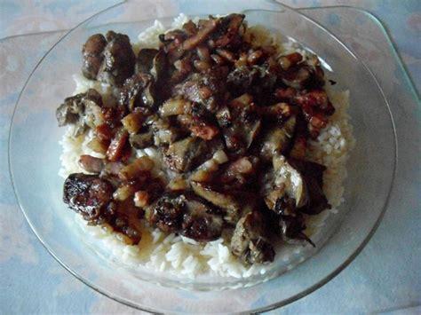 cuisiner des foies de volaille recette foies de volaille la vnitienne recette foies de