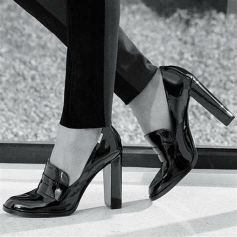 womens high heel loafers 25 best ideas about loafers on black