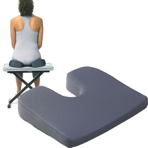 back relief pillow optp coccyx pillow for low back relief therapy home