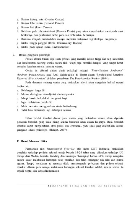 Etika Dan Hukum Kesehatan Buku Hukum aborsi dalam tinjauan etika hukum positif dan hukum islam