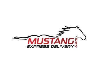 logo design entry number 93 by zaqsyak mustang express
