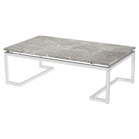 silver grey coffee table iliana regency silver grey marble coffee table kathy kuo