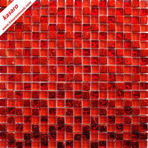 rote fliesen rotes glas mix stein mosaik fliesen rot mosaik
