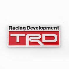Emblem Racing Development Kecil specular aluminum emblem badge sticker decal nismo motor sports international sports stickers