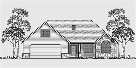 house over garage floor plans one story house plans house plans with bonus room over