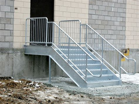Galvanized Handrail by Miscellaneous Metals Bsiw Welds And Fabricates Any Metal