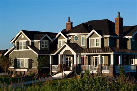 house plan   luxury home  craftsman shingle