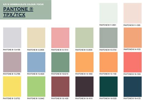 trending color palettes colour palette wgsn trend ss15 pinterest colour