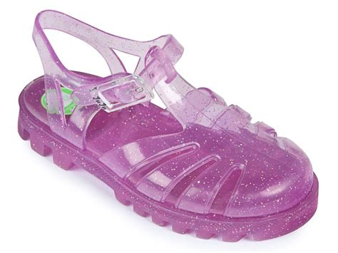 glitter pink jelly shoes by project jelly buy
