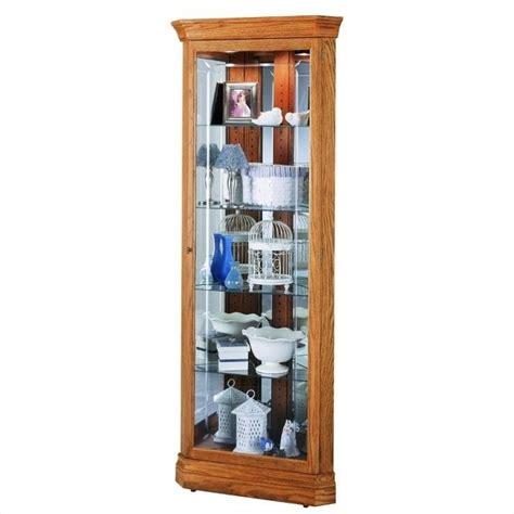 kitchen corner display cabinet howard miller hammond corner display curio cabinet 680347
