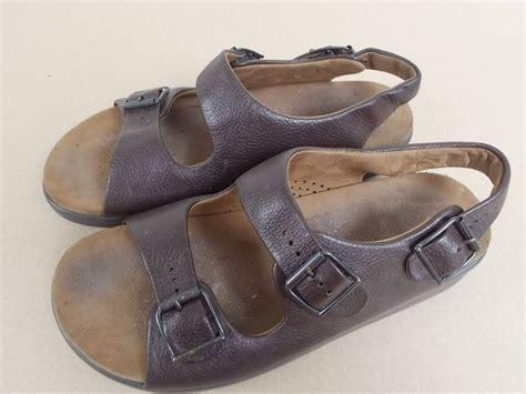 sas tripad comfort sandals sas mens brown bravo sandals 10m 3 straps leather tripad