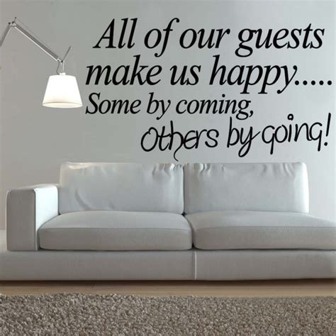 wall decals for guest bedroom guest quotes image quotes at hippoquotes com