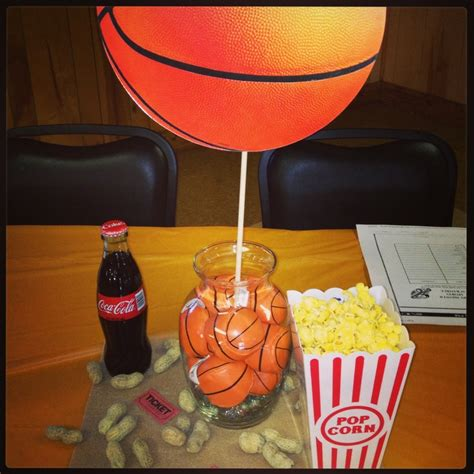 basketball themed decorations basketball table for sports theme baby shower event