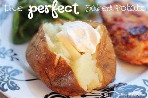 best way to bake a potato the baked potato i nap time
