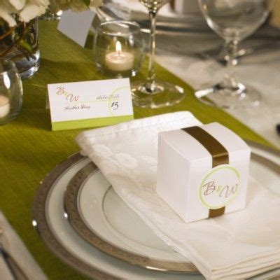 place setting ideas candy boxes as placecards wedding exles for