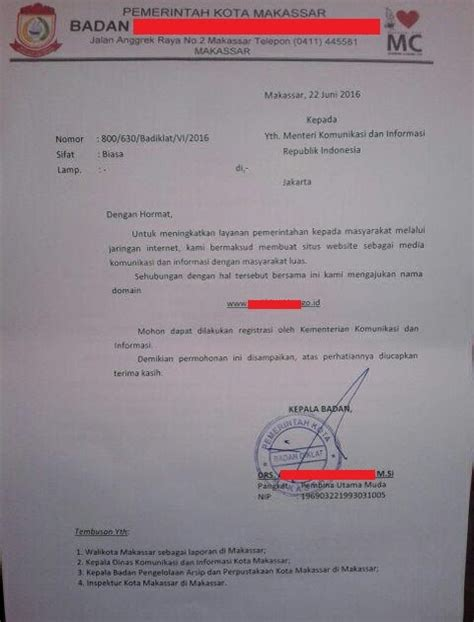 contoh formulir pendaftaran wifi contoh karo