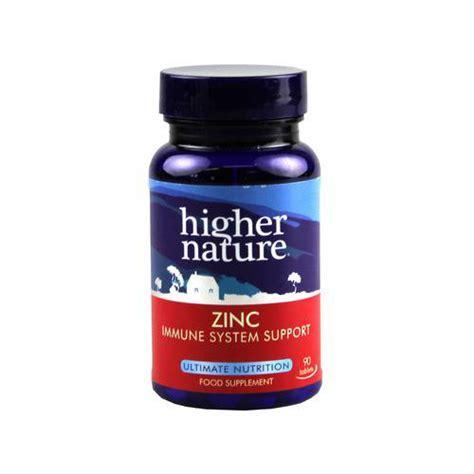Tablet Zinc Higher Nature Zinc 90 Tablets By Higher Nature