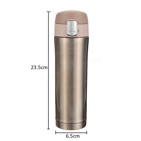 Laris Termos Kancing Vacum 500ml 500ml stainless steel thermos travel mug vacuum flask bottle coffea insulated cup at banggood