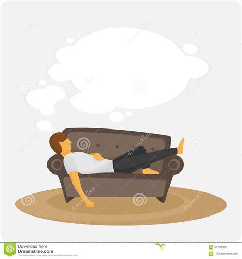 lazy on lazy on the stock illustration image 67581308