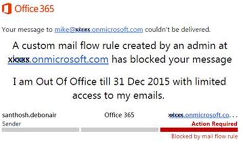 manage out of office or automatic reply in office 365