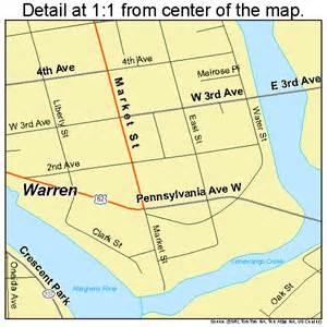 warren map warren pennsylvania map 4281000