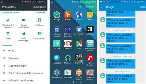 android themes s6 edge galaxy s6 le th 232 me android stock disponible dans le