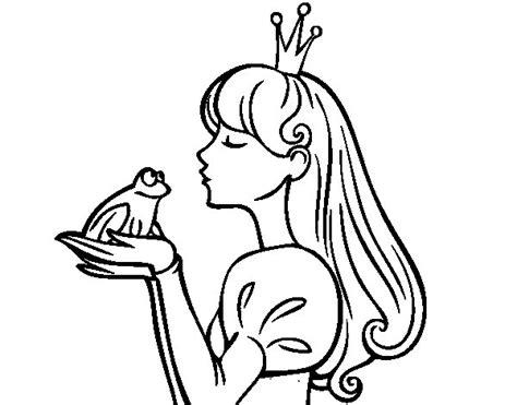 imagenes a blanco y negro de princesas coloriage de la princesse et la grenouille pour colorier