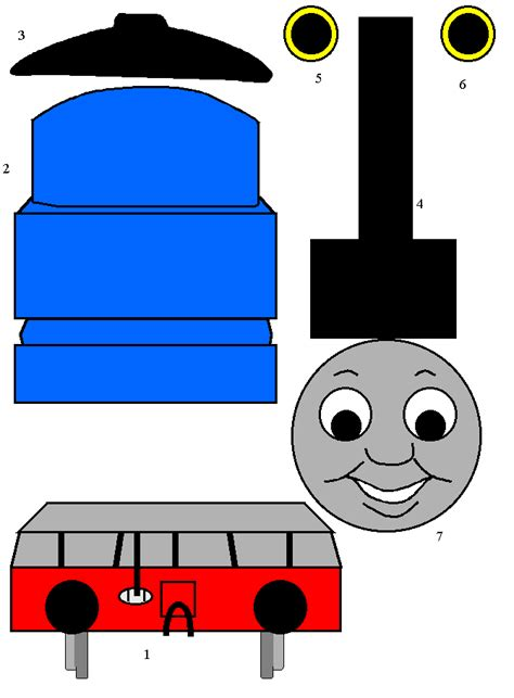 and friends the tank engine paper craft
