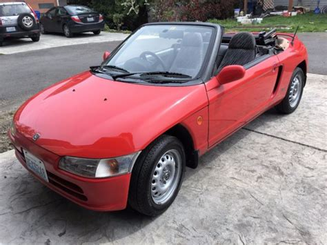 honda convertible honda beat convertible w 60k for sale honda beat
