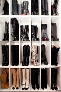 Boots Closet boots storage tips live simply by