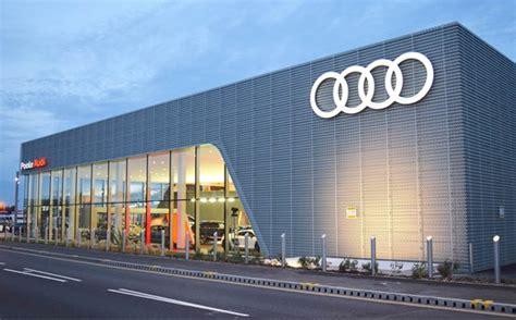 Audi Media Centre by Automotive Unveils Uk S Largest Audi Centre In Poole