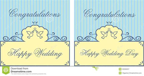 wedding words of congratulations wedding card royalty free stock photography image 30283037