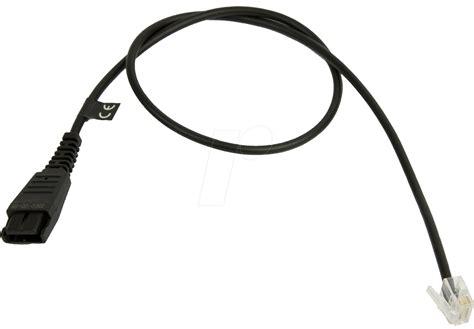 Headset Kabel gn 8800 00 01 headset kabel disconnect schwarz bei reichelt elektronik