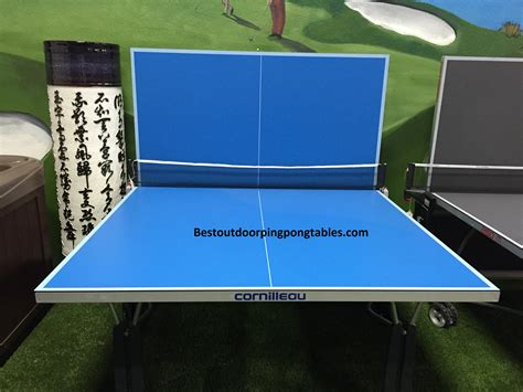 cornilleau sport one outdoor table tennis table awesome cornilleau sport one indoor images joshkrajcik