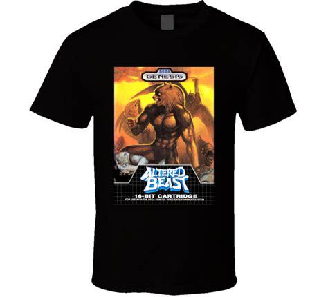 tshirt sega genesis bdc altered beast sega genesis cover t shirt