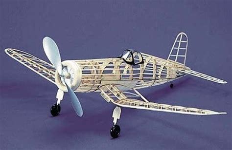 rubber st models f4u 1 corsair 113 herr balsa wood model airplane kit