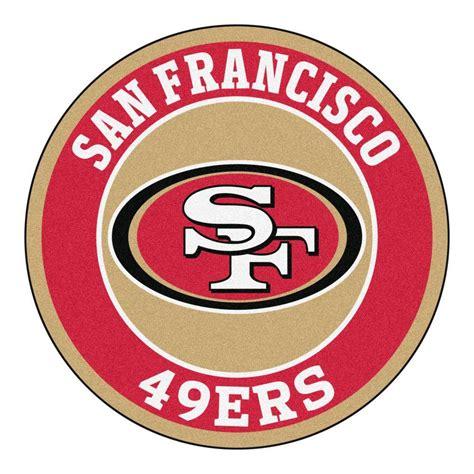 sf 49ers fan store fanmats nfl san francisco 49ers 2 ft 3 in x 2 ft 3