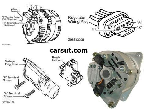 denso alternator wiring diagram mopar get free image
