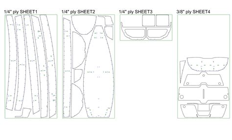 yacht layout template ozona pram plan set full size templates and assembly