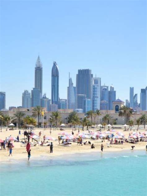dubai records  tourists  january  india