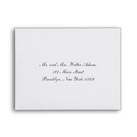 envelope for rsvp card wedding invitation envelope zazzle - Wedding Card Envelope