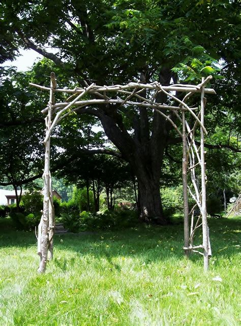 wedding arch vines rustic wedding arch and reuse in the garden with a