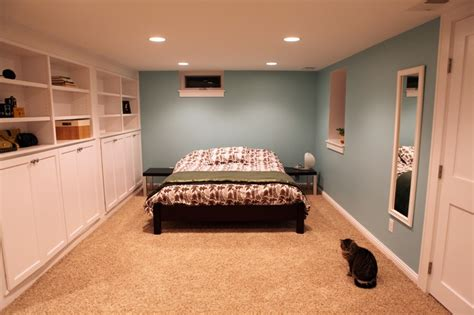 bedroom in basement the wall basement bedroom pinterest
