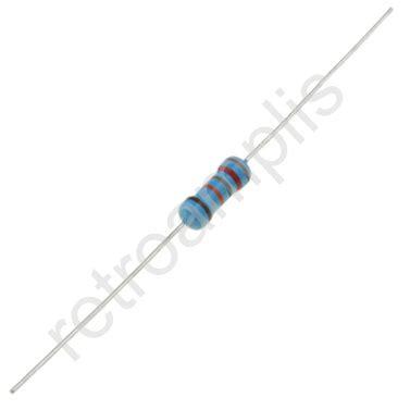 Resistor Metal Multicomp 470ohm 1 50ppm metal resistor 1w retrolis