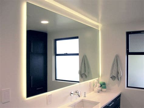 bathroom mirror with lights behind 1000 ideas about hidden lighting on pinterest saunas