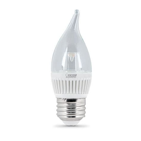 3 Watt Led Dimmable Chandelier Light Bulb 2 Pack At Menards 174 Dimmable Led Chandelier Light Bulbs